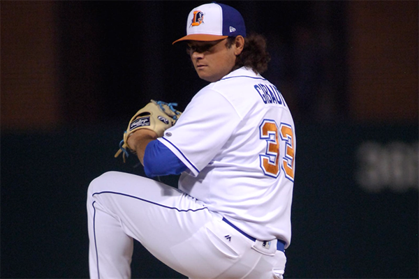 BY Alum Ian Gibaut gets call to Majors by Tampa Bay Rays