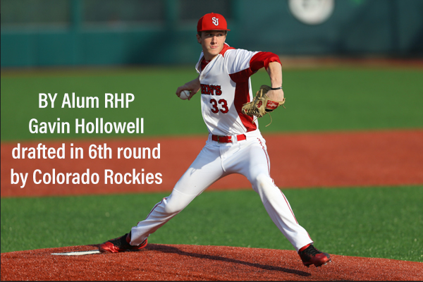 BY and St.Johns alum Gavin Hollowell of Stillwell NJ drafted by Rockies