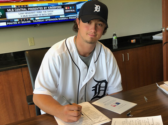 BY and WVU Alum Sam Kessler signs with the Tigers